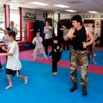 Free for all 2 at kickboxing class