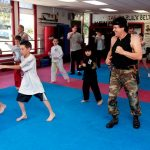 Free for all 3 at kickboxing class