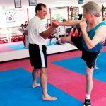 Kicks again for self defense