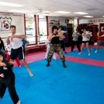 sam 2 kickboxing practice
