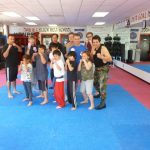 Karate Class Group Photo