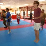 Martial arts Class Jumping