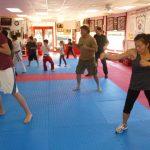 Martial arts Class Punching