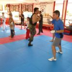 Self defense Class Sparring