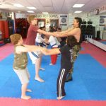 Karate Class Stretching