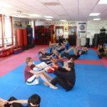 Karate Class Stretches