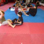 Martial arts Class Matt Work Out