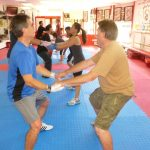 Martial arts Class Exercising