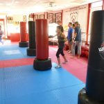 Martial arts Class Heavy Bag Work Out