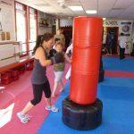 Martial arts Class Heavy Bag Striking