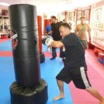 Karate Class Heavy Bag Work Outs