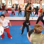 Karate Classes in progress