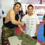 Wrapping up Kids Karate Lessons