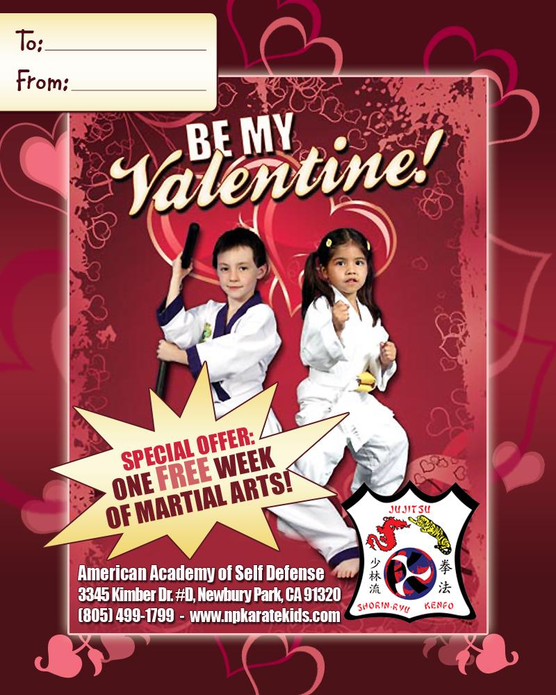 5x4-Karate-Valentine