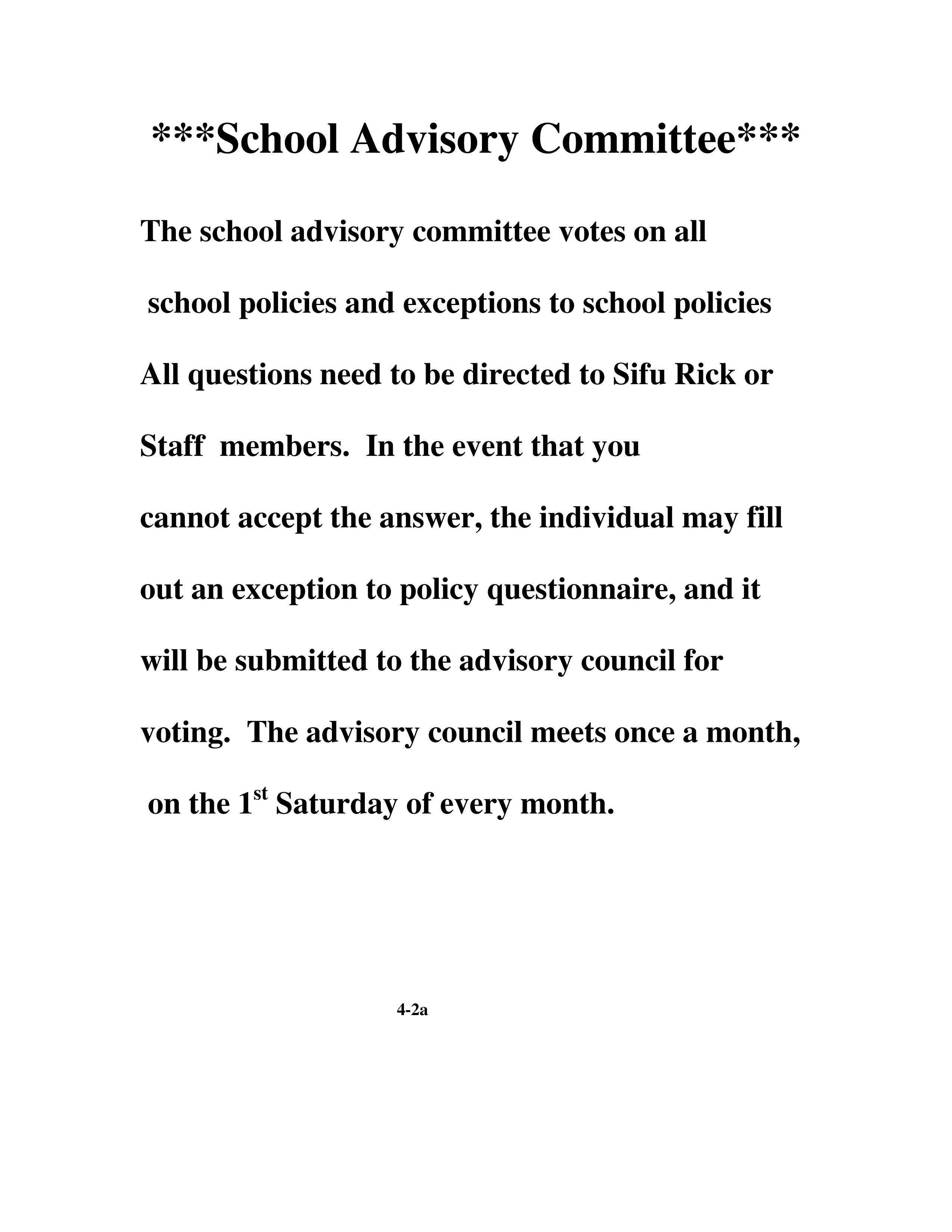 Microsoft Word - School Advisory Committee.doc