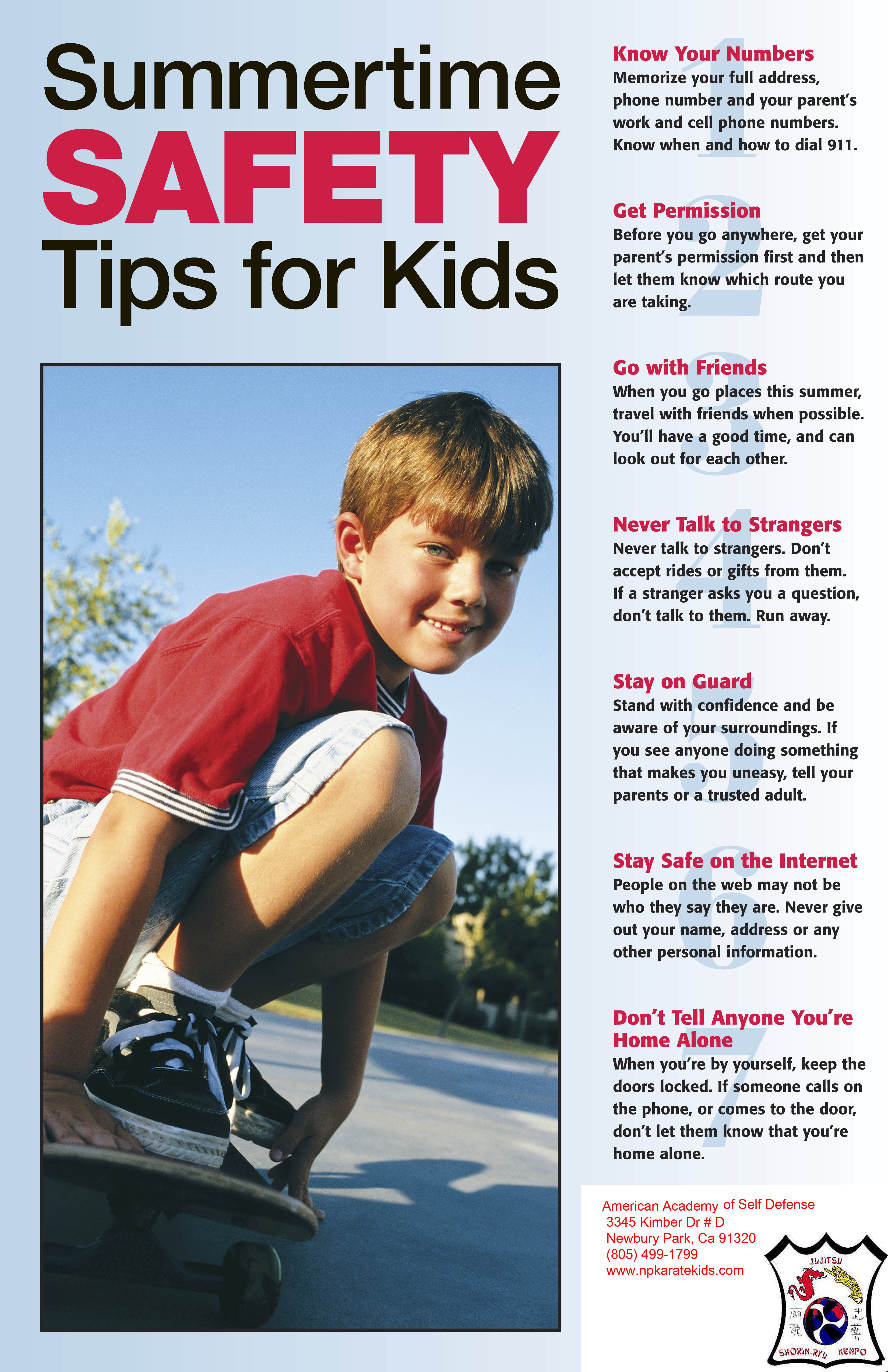 Watch 7 Swimming Safety Tips video