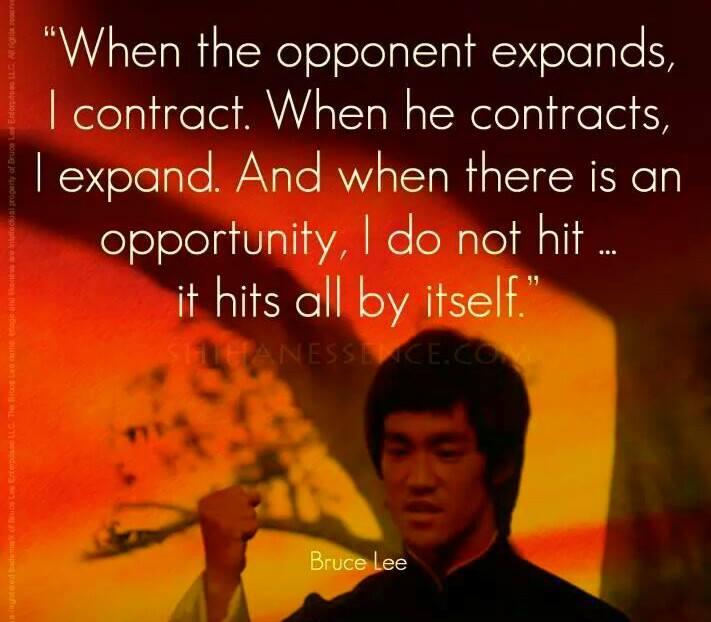 Bruce Lee expands