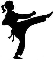 Girls' Karate School