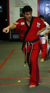 Martial Arts Instructor Sifu Rick Ostrander