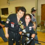 Kids Kickboxing Trophy