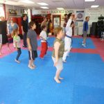 Karate Class Jumping Jacks