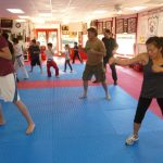 Martial arts Class Punching