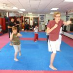 Martial arts Class Striking