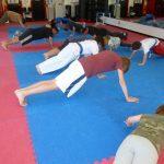 Karate Class Push-ups 1