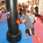 Karate Class Heavy Bag Drills