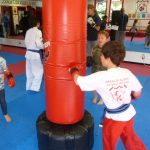 Karate Class Red Punching Bag 2