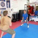 Karate Lessons Working with the Weight Ball