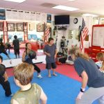 Kids Karate Lessons Ball Throwing