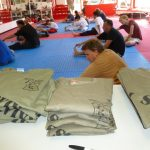 Self defense Classes Stretching