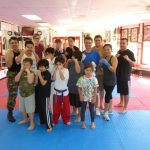 Kids Karate Instructor Class Photo