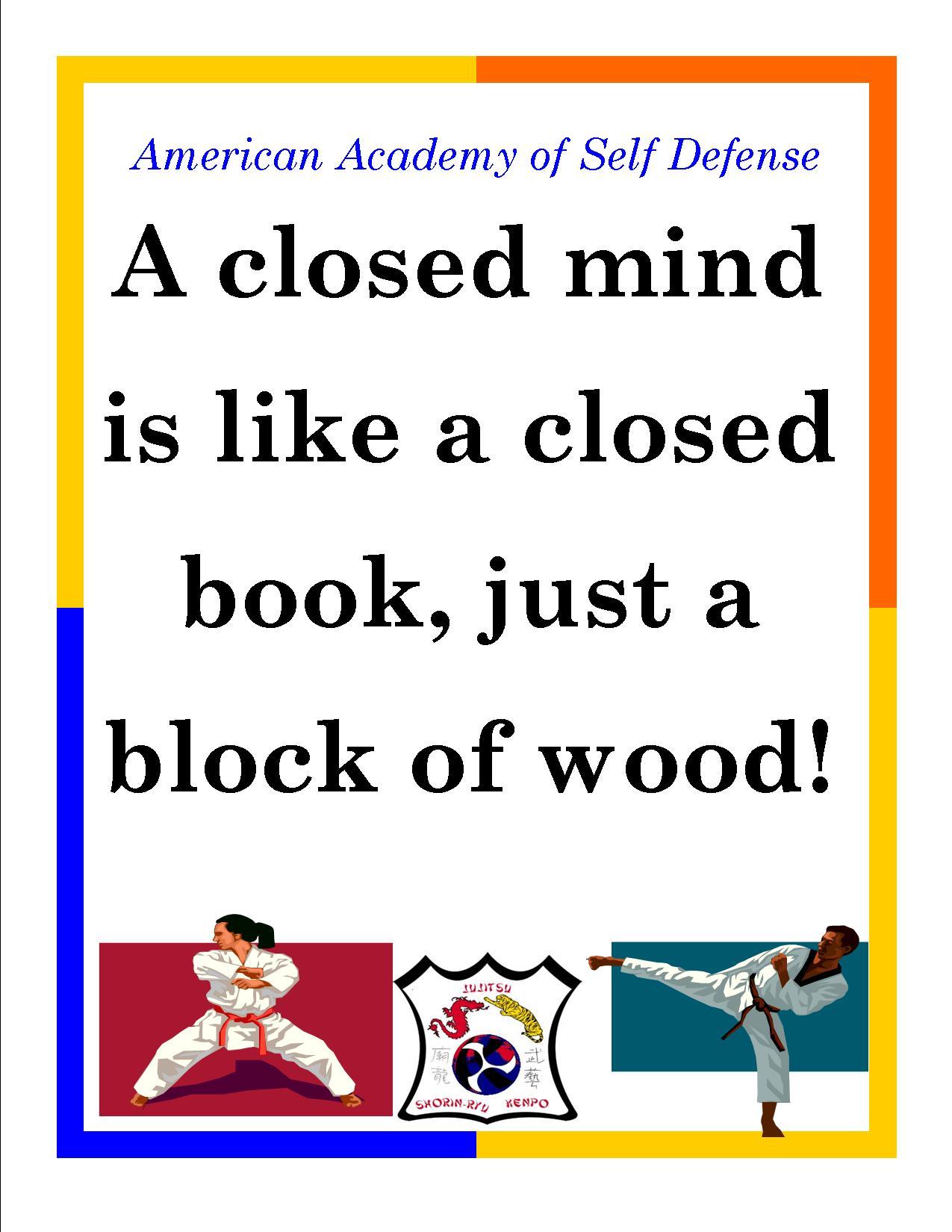 A closed Mind