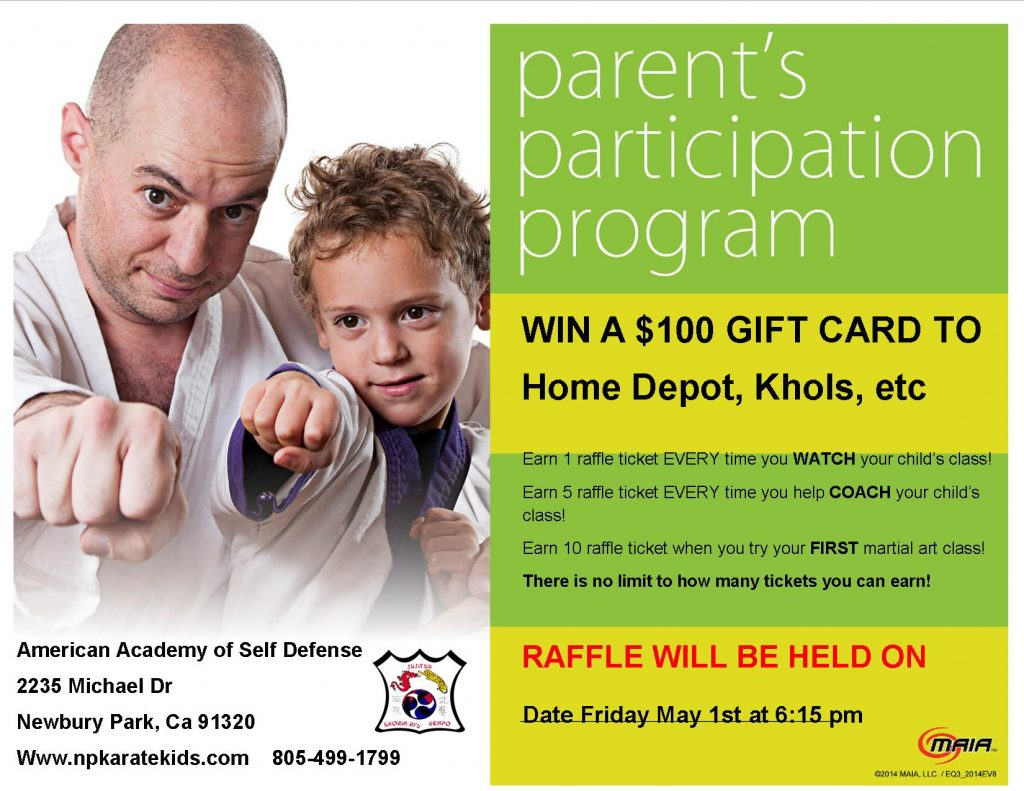 Raffle for parents1