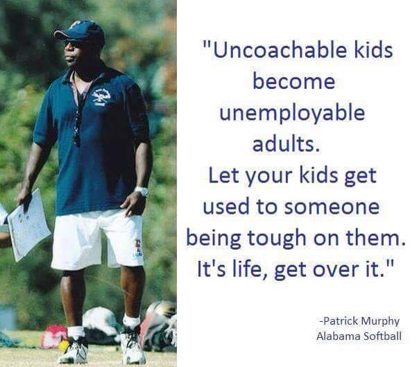let some ome be tough on kids
